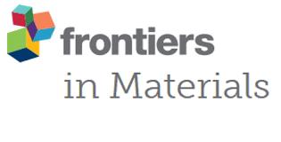 Frontiers in Materials