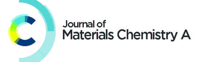 RSC Journal of Materials Chemistry A